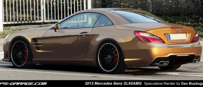 2013 Mercedes Benz SL AMG Render