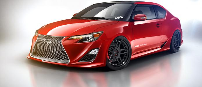 2014 Scion tC Body Kit Design by Matthew Law