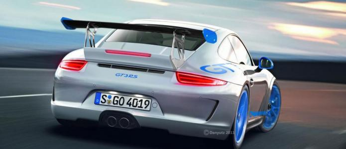 2013 Porsche 911(991) GT3 RS Speculative render