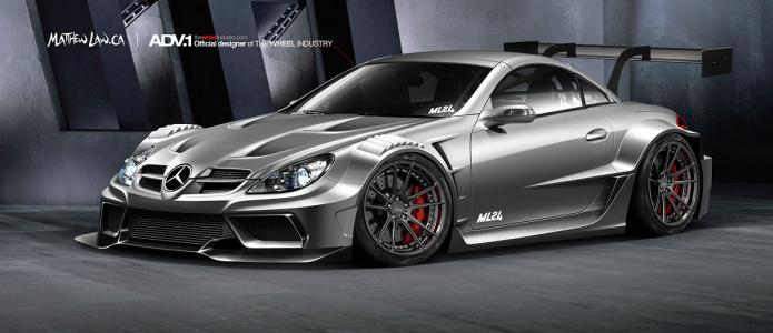 Mercedes-Benz SLK Wide Body Kit R171