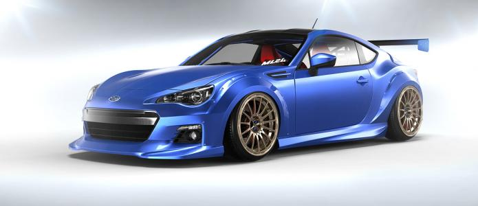 ML24 by Matthew Law Subaru BRZ Wide Body Over Fenders