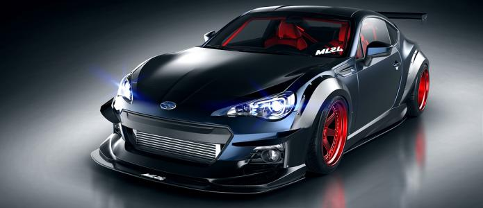 ML24 Subaru BRZ Wide Body Kit Carbon Package