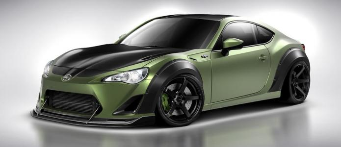 Pat Cyr Drift Scion FR-S with ML24 Wide Body Kit