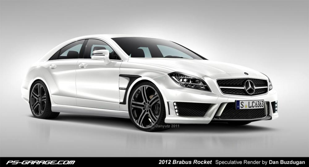 mercedes cls brabus rocket sale. Black Bedroom Furniture Sets. Home Design Ideas