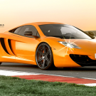 Mclaren MP4-12C on LOMA Wheels Laguna Seca