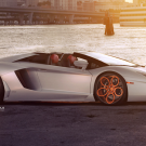 Lamborghini Aventador on LOMA Wheels Raging Bull