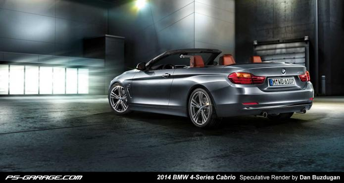 2014 BMW 4-Series Cabrio Speculative Render