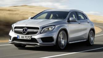 Official 2014 Mercedes-Benz GLA 45 AMG