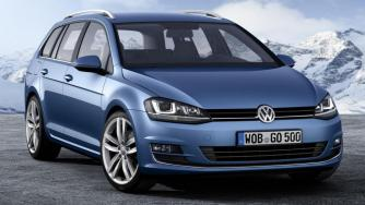 Volkswagen Golf Variant with 4Motion