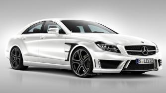 2012 Brabus Rocket based on CLS 63 AMG Speculative Render