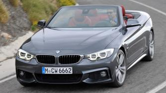 2014 BMW 4-Series Convertible Official Photos