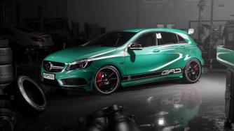 Mercedes-Benz A45 AMG by GAD Motors