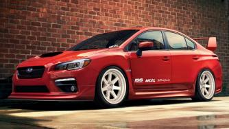 2015 Subaru WRX Body kit by ML24