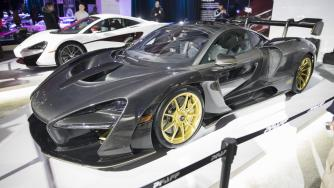 2019 Canadian International Auto Show - Mclaren Senna Carbon Fiber