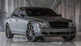 Maybach 57 by Couture Customs