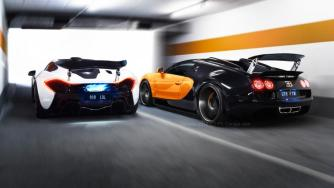 The Race - McLaren P1 vs Bugatti Veyron Vitesse
