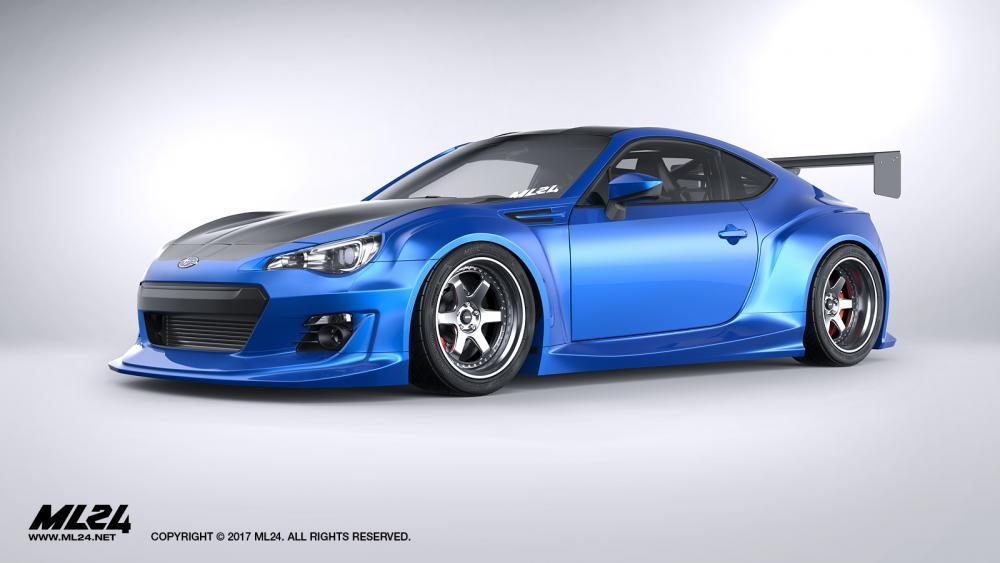 ML24 Subaru BRZ Version 2 Wide Body Kit Official Release