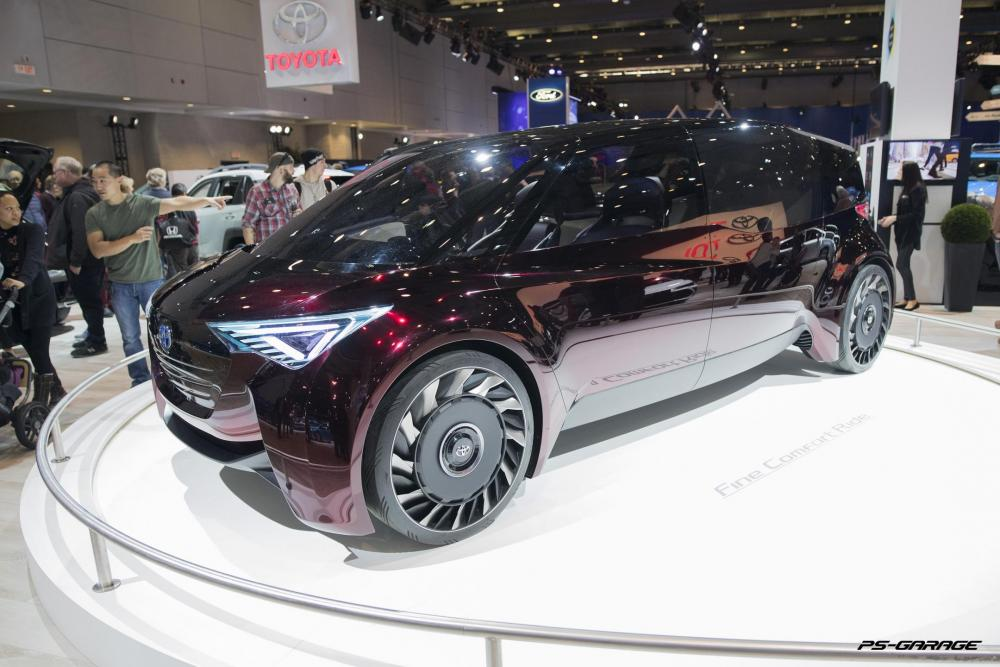 2019 Canadian International Auto Show - Toyota Fine Comfort Ride Concept