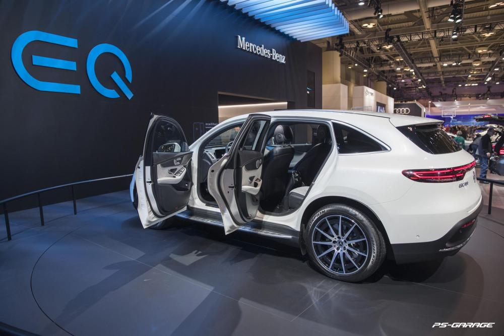 2019 Canadian International Auto Show - Mercedes-Benz EQ Concept