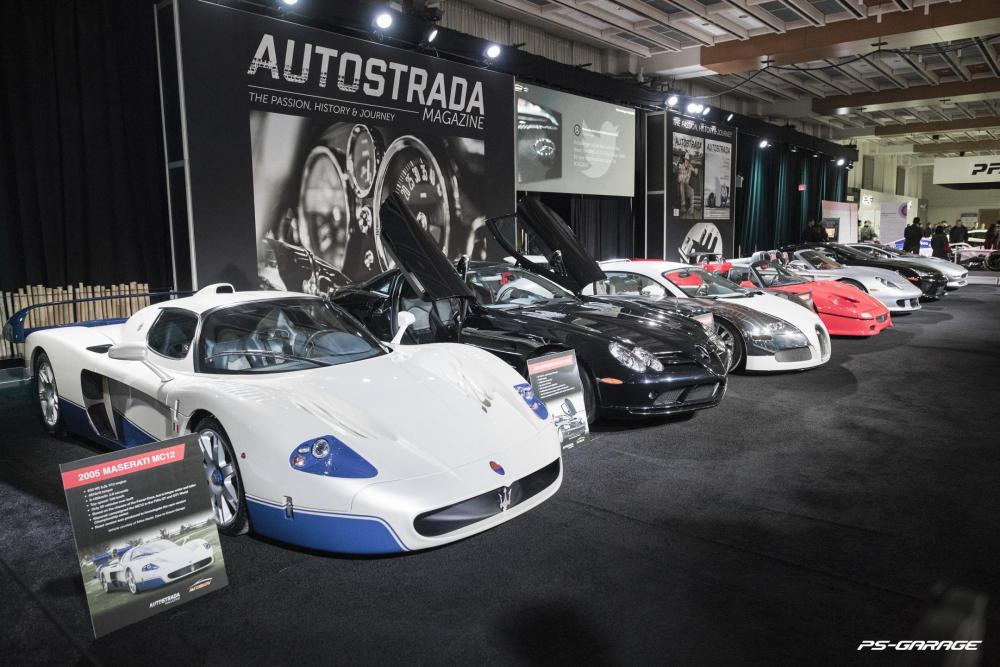2019 Canadian International Auto Show - Various Supercars