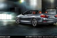 2014 BMW 4-Series Cabrio Speculative Render Spyshot Leak