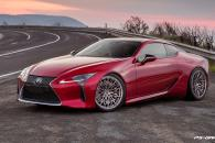 Ps-Garage Wheel Design and Rendering Services Lexus LC500