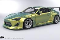 2013-2016 Scion FR-S Toyota GT86 Wide Body Kit by ML24 Design