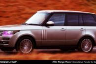 2012 Land Rover Range Rover Speculative Render Spyshot Leak