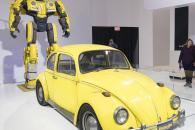2019 Canadian International Auto Show - Volkswagen Beetle Bumblee Transformer