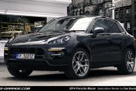 2014 Porsche Macan Speculative Render Spyshot Leak