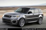 2014 Land Rover Range Rover RS Speculative Render Spyshot Leak