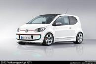 Volkswagen Up! GTi Speculative Render Spyshot Leak